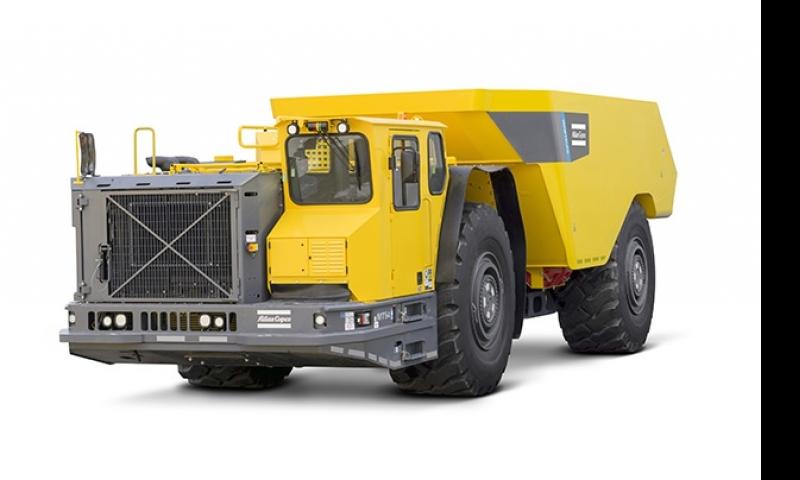Atlas Copco lança novo caminhão subterrâneo