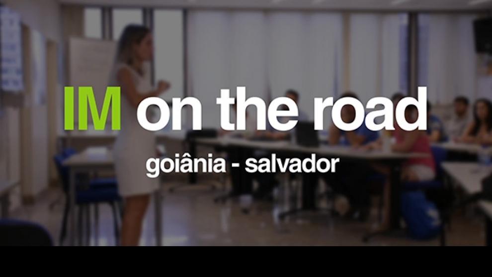 IM on the road - Em maio o Instituto Minere vai para a estrada!