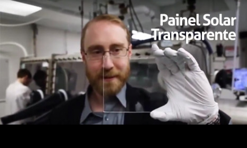 Painel Solar Transparente - Inovação e Sustentabilidade