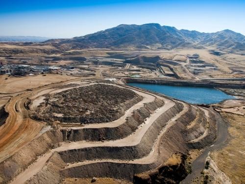 Projeto de Pilhas para Disposição de Rejeito e Estéril na Mineração