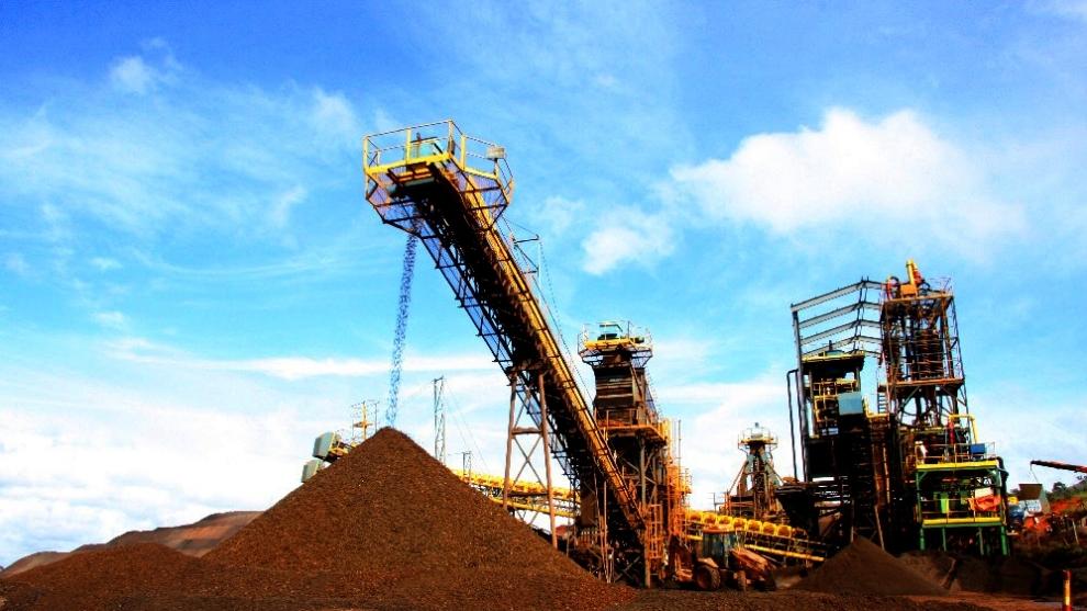 planta de beneficiamento ferrou mineração