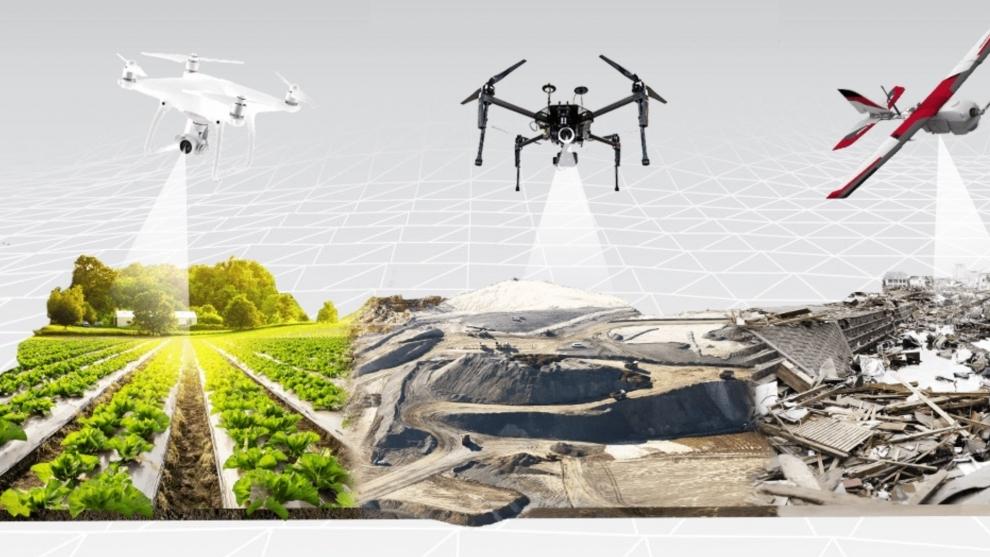 Os tipos de drone e a relação com o mapeamento