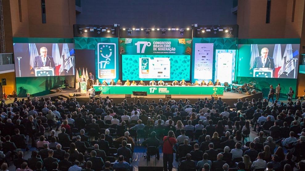 Inscrições abertas para edição 2019 do Congresso Brasileiro de Mineração