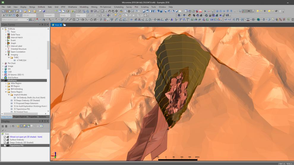 Modelagem Geológica e Planejamento de Lavra