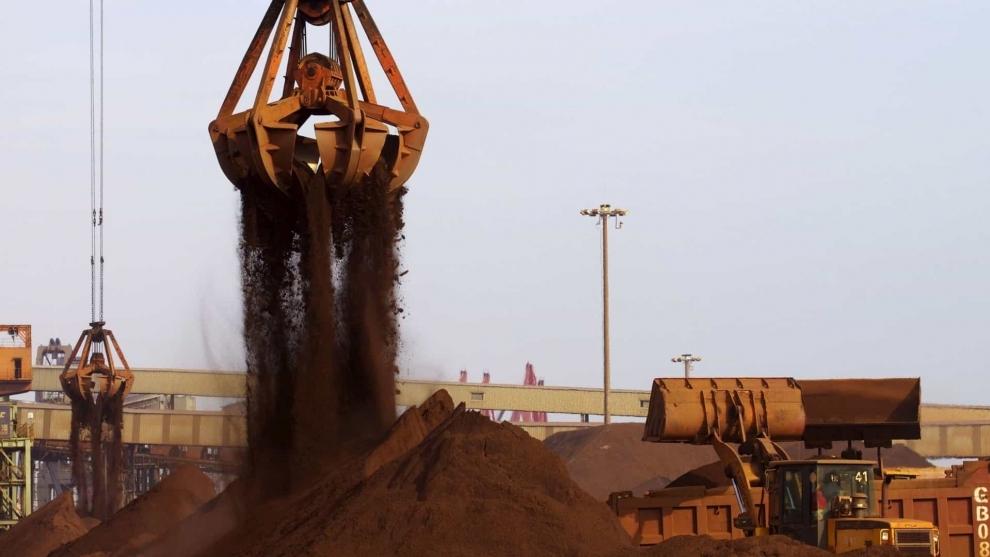 China: Importações de minério de ferro atingem nível mais alto em 19 meses