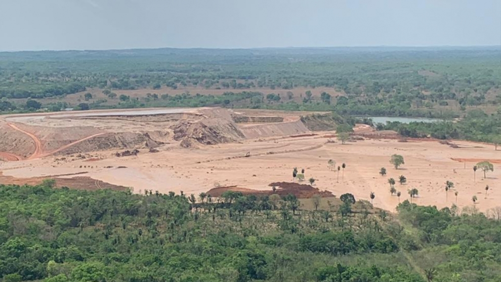 Barragem da MV Mineração rompe no Mato Grosso