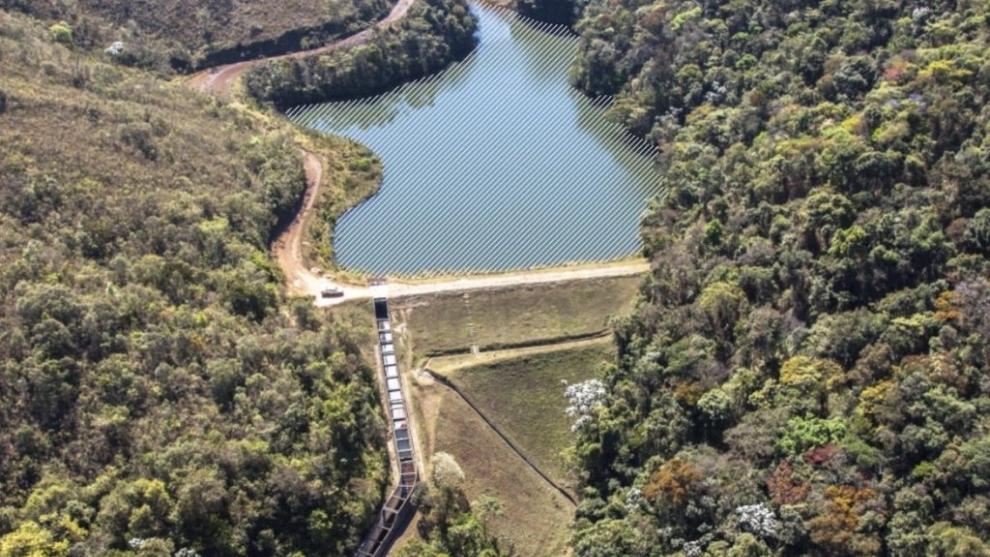Descaracterização de barragem de mineração