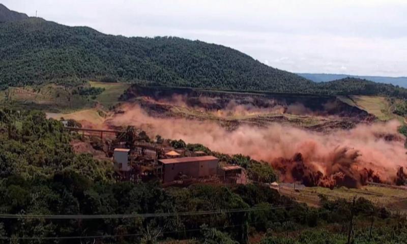 Estudo contratado pela Vale confirma que barragem em Brumadinho se rompeu por liquefação