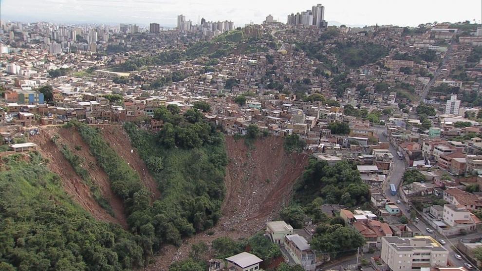 Após chuvas, BH está em alerta geológico até o dia 31 de janeiro