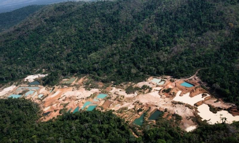Regularização da Mineração em Terras Indígenas