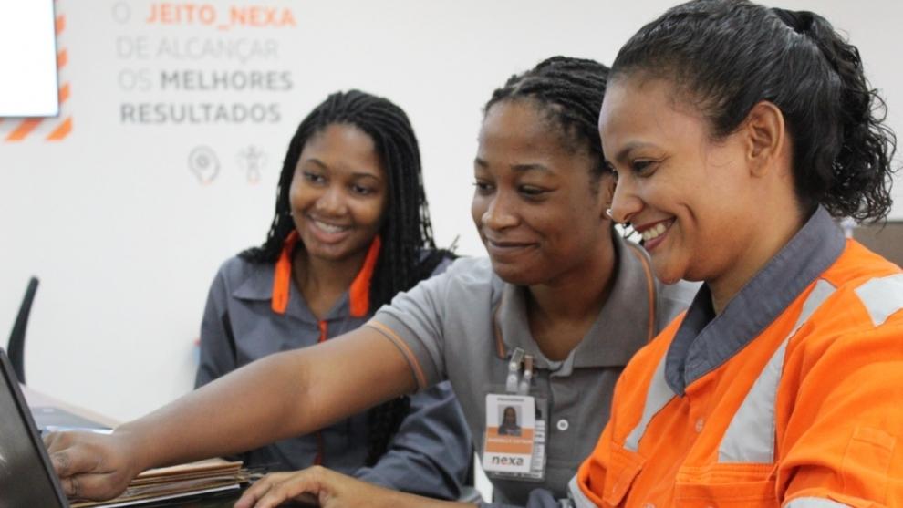 Mineradora Nexa assina documento para fortalecer e ampliar a presença das mulheres na mineração