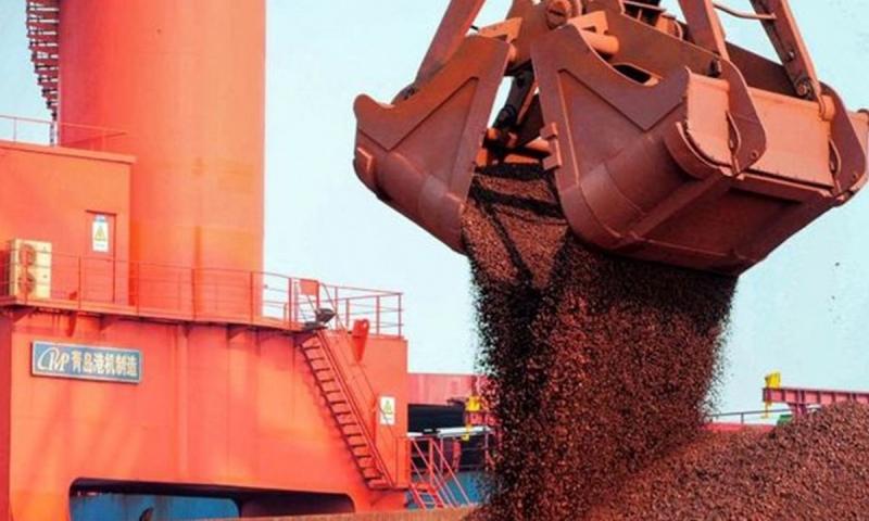 Exportações de minério de ferro para China crescem 19% em março.