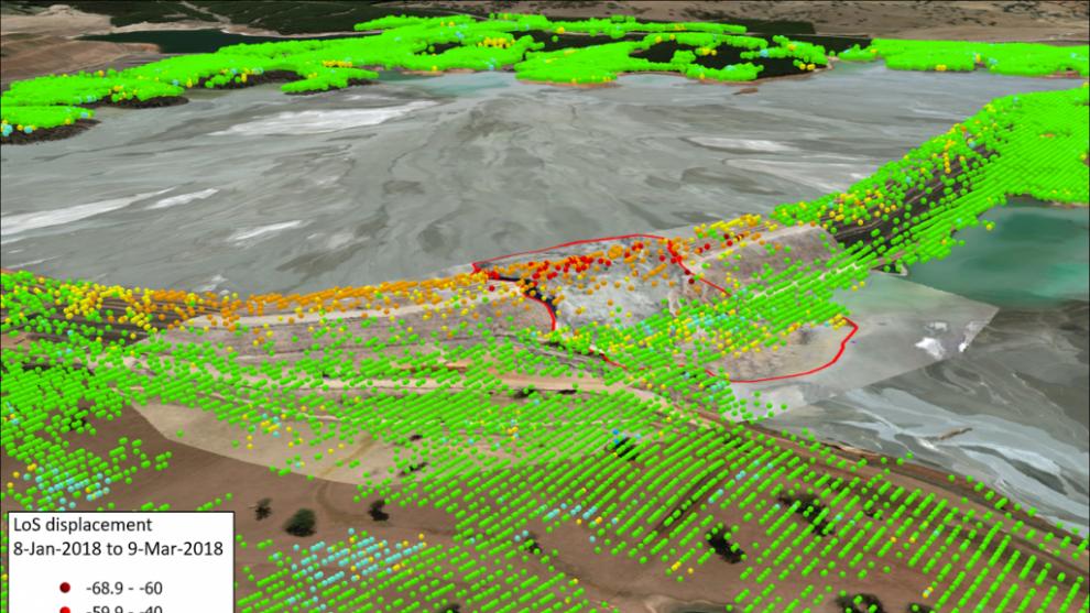 insar monitoramento geotecnico